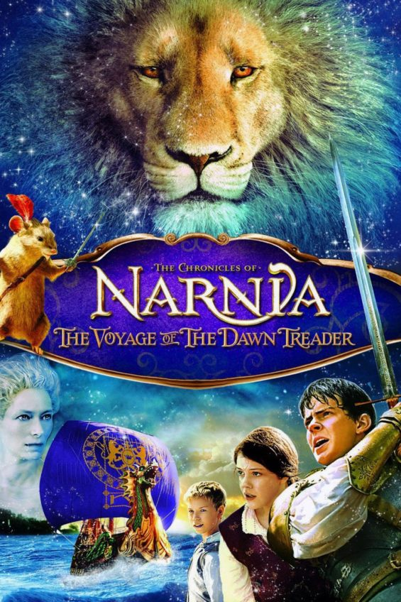 "Poster for the movie ""The Chronicles of Narnia: The Voyage of the Dawn Treader"""